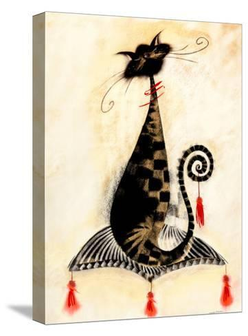 Thomas the Cat-Marilyn Robertson-Stretched Canvas Print