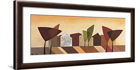 Fancy Tree II-Hans Paus-Framed Art Print