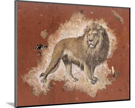 Le Lion-Laurence David-Mounted Art Print