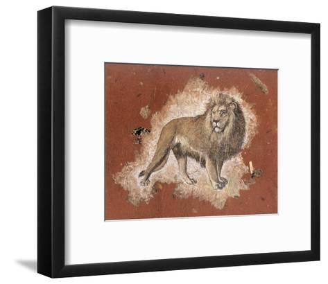 Le Lion-Laurence David-Framed Art Print