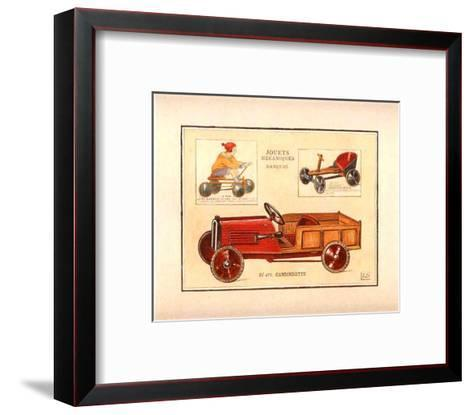 Camionette-Laurence David-Framed Art Print