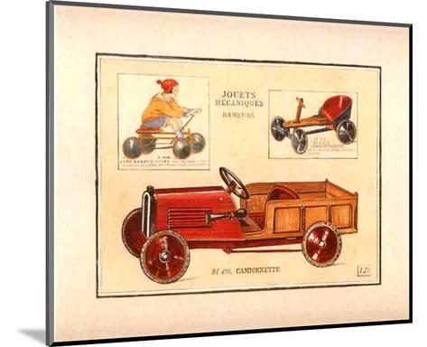 Camionette-Laurence David-Mounted Art Print