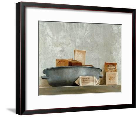 Savons I-Claudine Picard-Framed Art Print