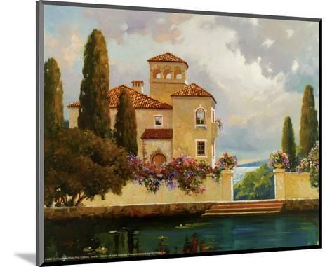 Tuscan Home II-V^ Dolgov-Mounted Art Print