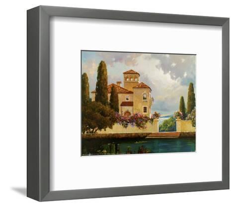 Tuscan Home II-V^ Dolgov-Framed Art Print