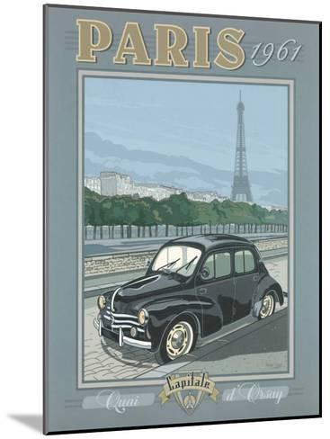Paris 1961, 4Cv-Bruno Pozzo-Mounted Art Print