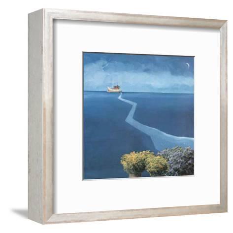 By Land and By Sea IV-Marko Viridis-Framed Art Print