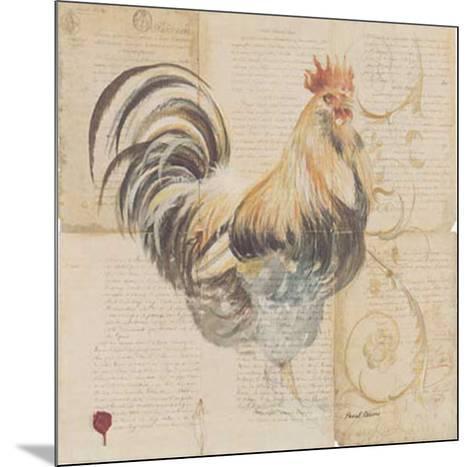 Le Coq-Pascal Cessou-Mounted Art Print
