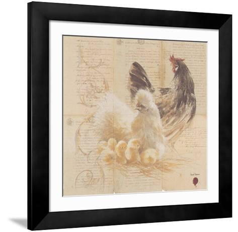Les Poules-Pascal Cessou-Framed Art Print