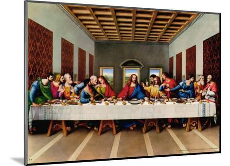 The Last Supper--Mounted Art Print