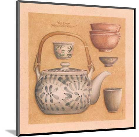 Tea Pot III-Laurence David-Mounted Art Print