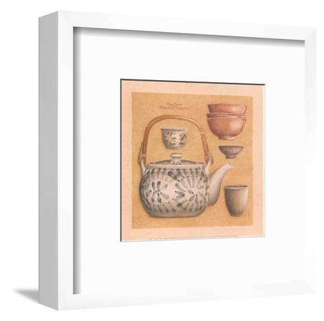 Tea Pot III-Laurence David-Framed Art Print