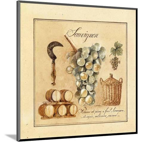 Sauvignon-Laurence David-Mounted Art Print