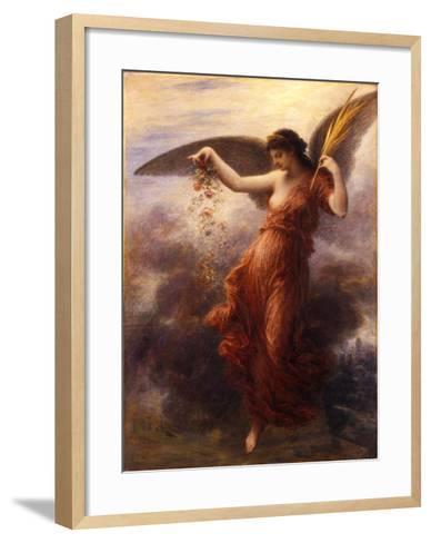 Immortality-Henri Fantin-Latour-Framed Art Print