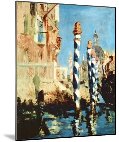 Grand Canal, Venice-Edouard Manet-Mounted Art Print