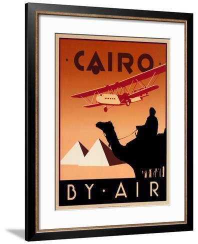 Cairo by Air-Brian James-Framed Art Print