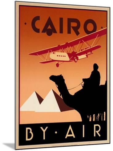 Cairo by Air-Brian James-Mounted Art Print