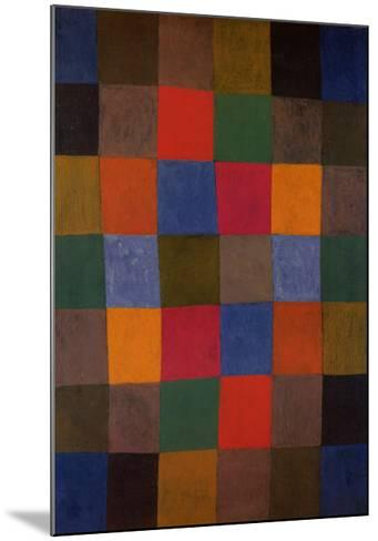 New Harmony, 1936-Paul Klee-Mounted Art Print