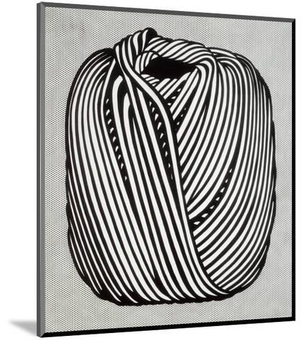 Ball of Twine, 1963-Roy Lichtenstein-Mounted Art Print