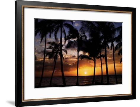 Relax: Palm Trees-Craig Tuttle-Framed Art Print