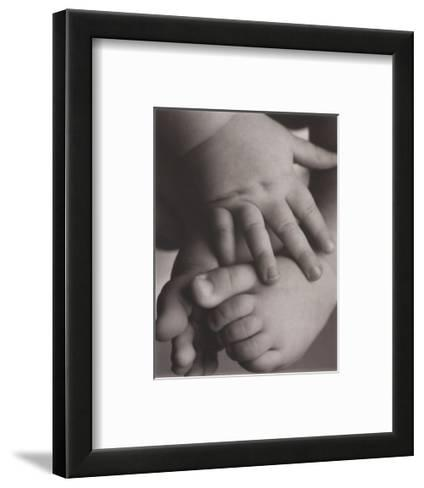 Hope: Baby Hands and Feet-Laura Monahan-Framed Art Print