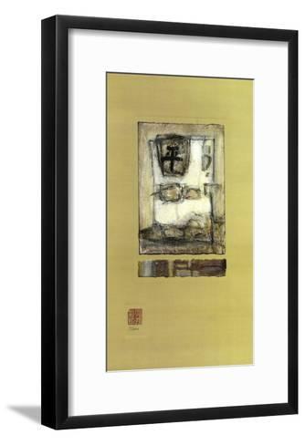 Chinese Series, Peace I-Mauro-Framed Art Print