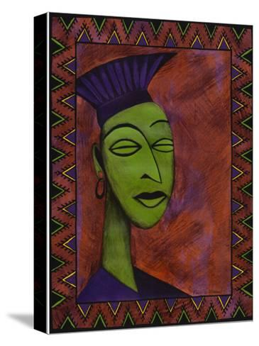 African Beauty I-Renee W^ Stramel-Stretched Canvas Print