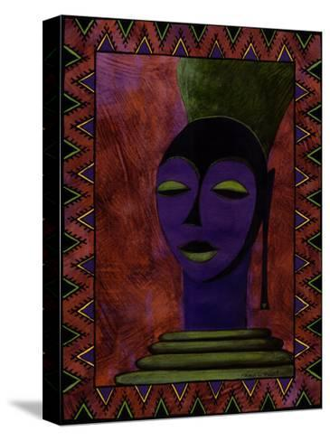 African Beauty II-Renee W^ Stramel-Stretched Canvas Print