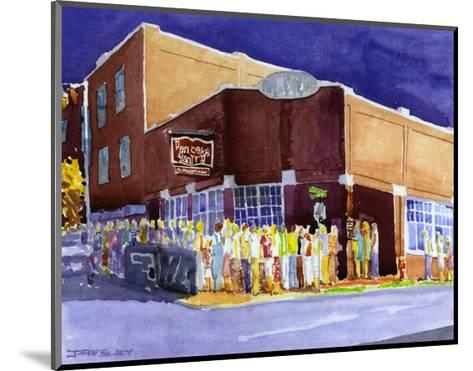 Pancake Paradise, Nashville, TN-J^ Presley-Mounted Art Print
