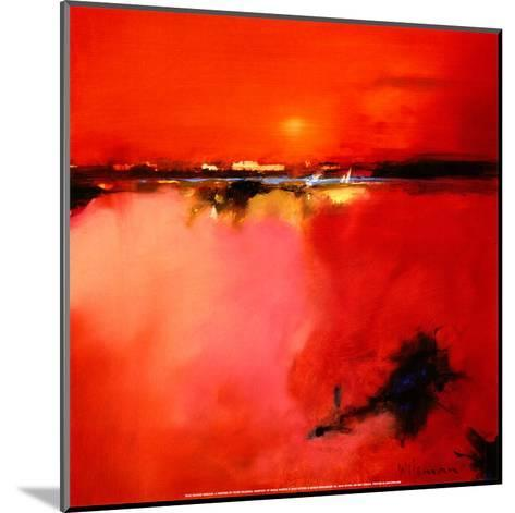 Orange Horizon-Peter Wileman-Mounted Art Print