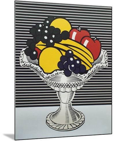 Still Life with Crystal Bowl-Roy Lichtenstein-Mounted Collectable Print