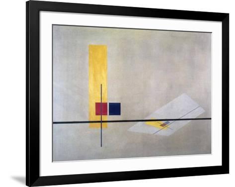 Konstruktion, 1922-23-Laszlo Moholy-Nagy-Framed Art Print