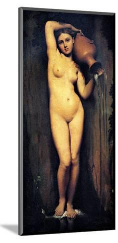 The Source-Jean-Auguste-Dominique Ingres-Mounted Giclee Print