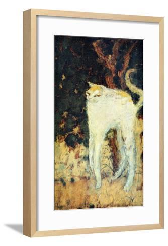 The White Cat-Pierre Bonnard-Framed Art Print