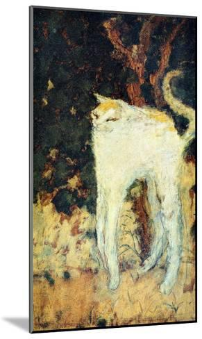 The White Cat-Pierre Bonnard-Mounted Giclee Print