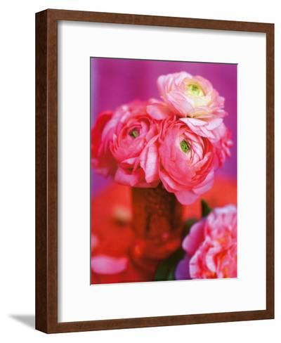 Pink Bouquet-Pernilla Bergdahl-Framed Art Print