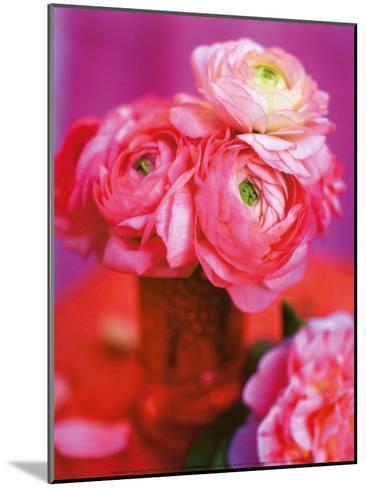 Pink Bouquet-Pernilla Bergdahl-Mounted Art Print