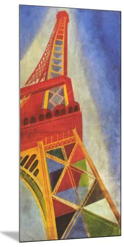 Eiffel Tower-Robert Delaunay-Mounted Art Print