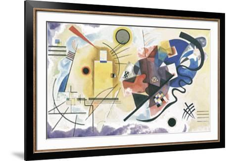 Jaune, Rouge, Bleu, 1925-Wassily Kandinsky-Framed Art Print