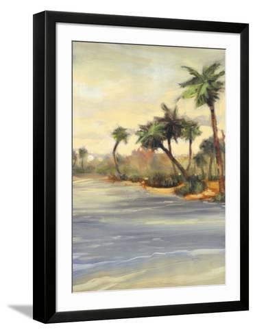 Caribbean Shores I-Jeff Surret-Framed Art Print