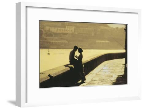 Lovers-Pezhman-Framed Art Print