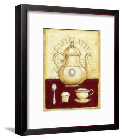 Caffe Latte and Cupcake-G^p^ Mepas-Framed Art Print