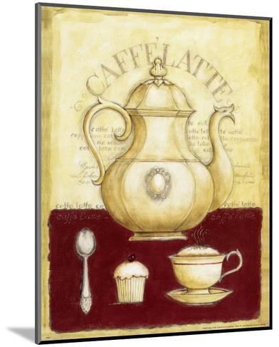 Caffe Latte and Cupcake-G^p^ Mepas-Mounted Art Print