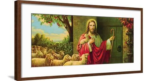Eine Herde und Ein Hirte-Giovanni-Framed Art Print