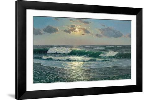 Peace and Serenity-Zelena-Framed Art Print