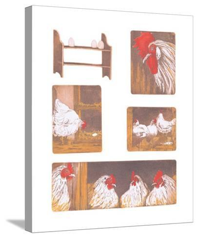 The Chicken Story-Van Der Sweep Ans-Stretched Canvas Print