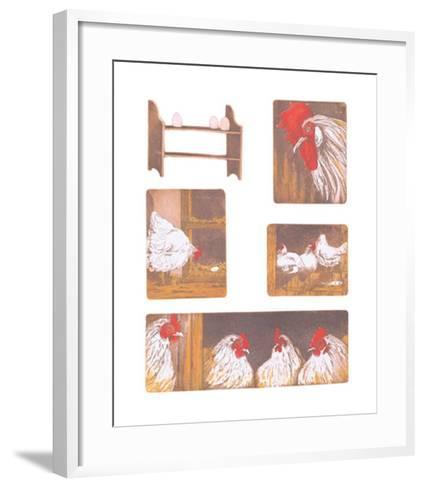 The Chicken Story-Van Der Sweep Ans-Framed Art Print