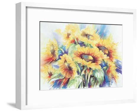 Sunny Day-Hanneke Floor-Framed Art Print