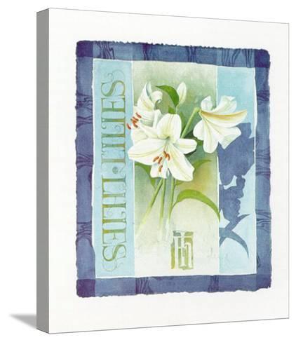 Lilies-Franz Heigl-Stretched Canvas Print