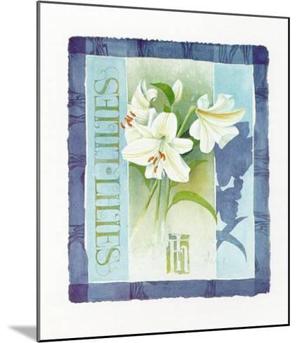 Lilies-Franz Heigl-Mounted Art Print